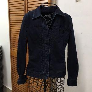Adorable Dark Denim Jacket